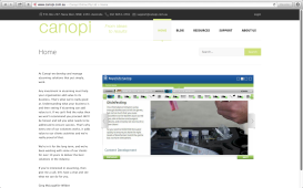 Canopi Training Services Website 001