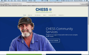 CHESS Employment Services Website 001