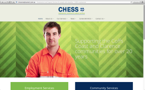 CHESS Employment Services Website 002