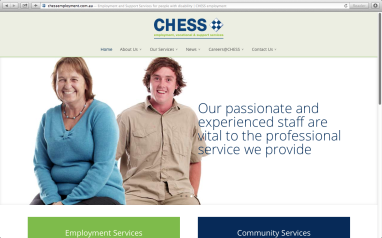 CHESS Employment Services Website 004