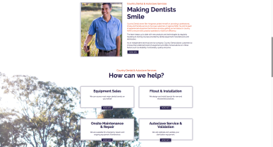Country Dental Website 002