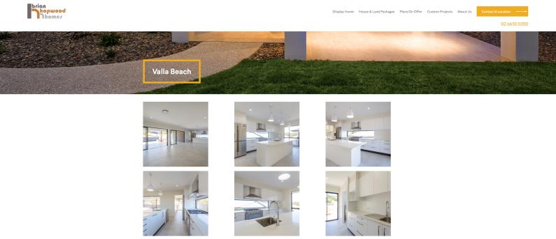 Hopwood Homes Website 002