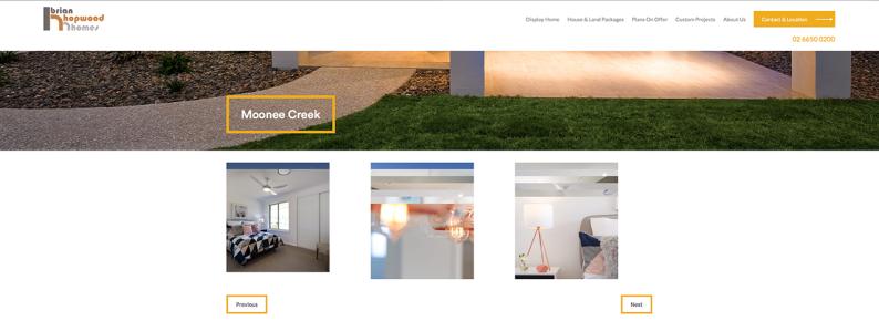Hopwood Homes Website 003