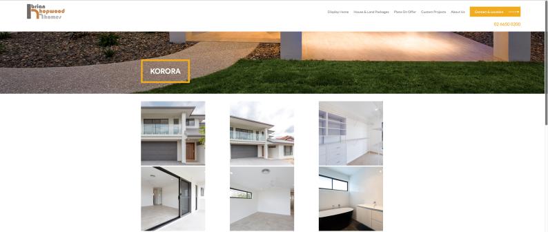 Hopwood Homes Website 004